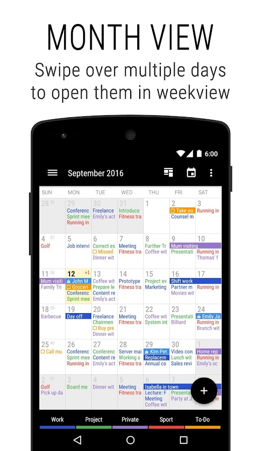 Business Calendar 2 Screenshot 0