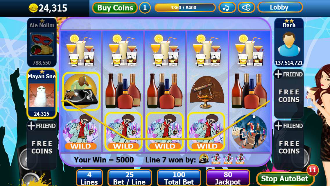 Slot & Party Free Casino Slots Screenshot