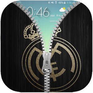 Madrid Zipper Real Lock Screen