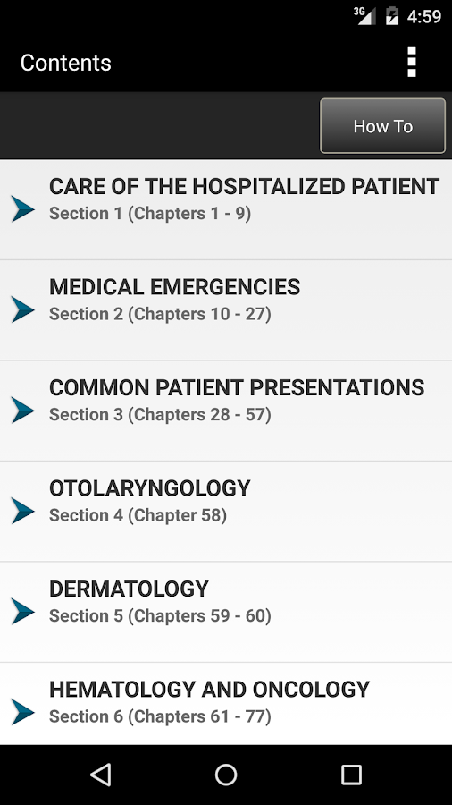 Harrison's Manual Medicine 19E Screenshot 1