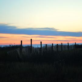 Beauty over the Fence by Rhonda Kay - Landscapes Sunsets & Sunrises (  )