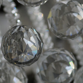Crystal by Vilasini Tinnaneri - Artistic Objects Glass ( ball, chains, glass, crystal, light )