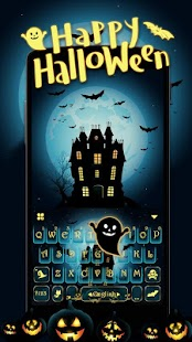 Happy Halloween Keyborad Theme for pc
