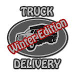 Truck Delivery Winter Edition Icon
