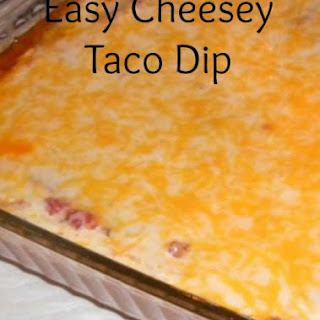 Tasty Tuesday - Easy Taco Dip