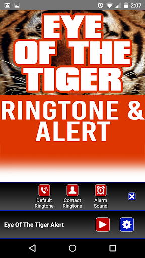 Eye of the Tiger Ringtone - screenshot