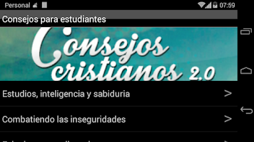 Screenshot of Consejos Cristianos 2.0