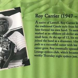 A native of Lawtell, Roy Carrier learned to play in the traditional Creole style from his own father and later formed his own band. To earn a living, he worked as an offshore oil-driller and also ran ...