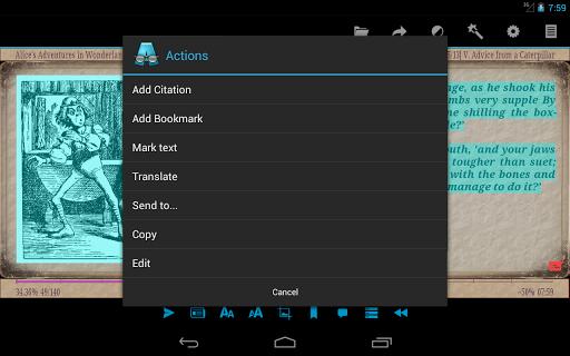 AlReader -any text book reader screenshot 23