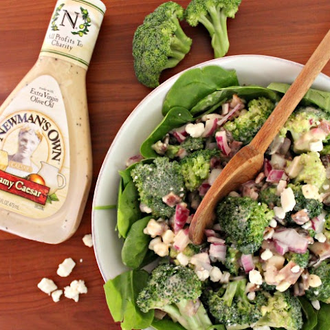 Healthy Broccoli Salad with Bacon
