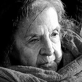 Joyce by Rebecca Pollard - Black & White Portraits & People (  )