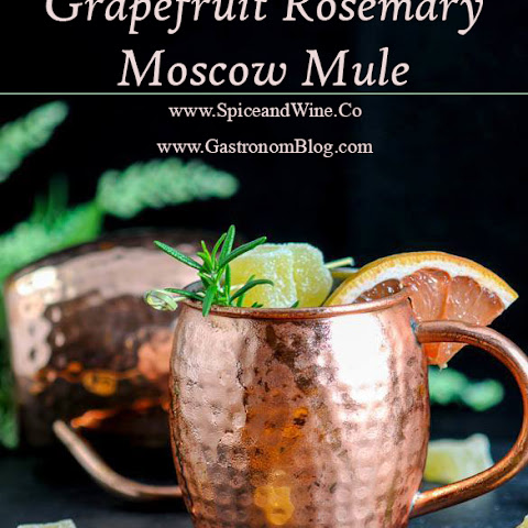 Rosemary Grapefruit Moscow Mule