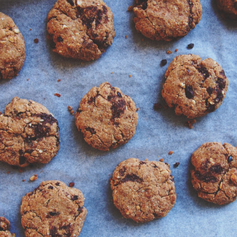 Spelt Cacao Chip Cookies