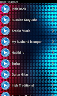 World Famous Ringtones - screenshot