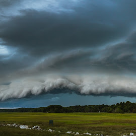 Skyfall by Josh Blash - Landscapes Weather ( thunder, clouds, sky, summer, weather, landscape, storm )