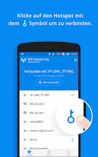WiFi Master Key - von wifi.com Screenshot
