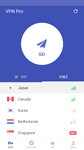 Free VPN proxy by Snap VPN Screenshot