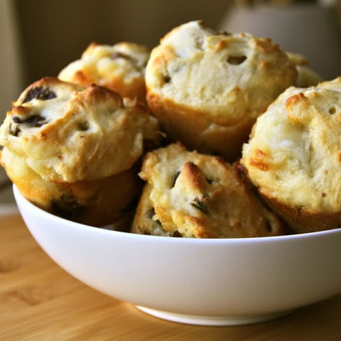 . Fig And Goat Cheese Honey Muffins .