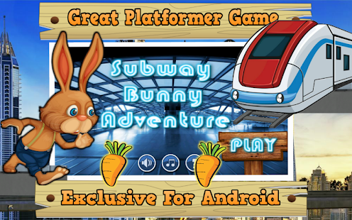 Bunny Subway Adventure - screenshot