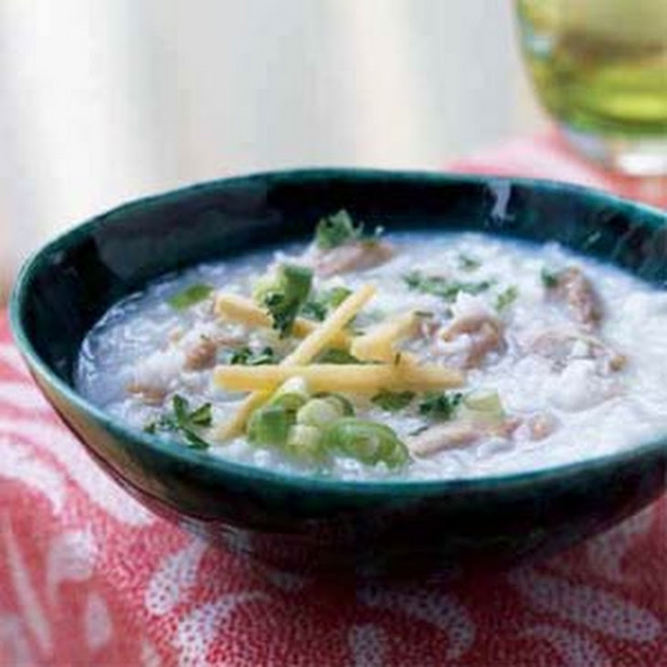 Rice Congee Soup (Jook)