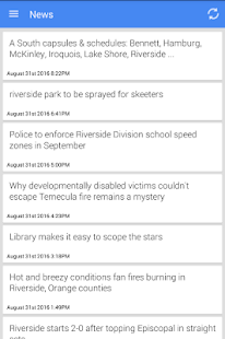 Riverside News - screenshot