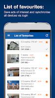Screenshot of ImmoScout24 Switzerland