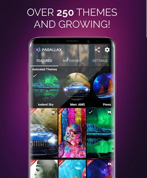 3D Parallax Background- screenshot