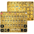 Gold Glitter Emoji Keyboard APK for Lenovo