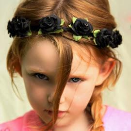 Messy Princess by Cheryl Korotky - Babies & Children Child Portraits