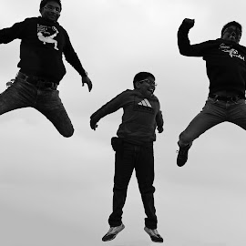 I believe I can fly by Kuntal Bhattacharya - People Street & Candids ( people, street photography, jump )