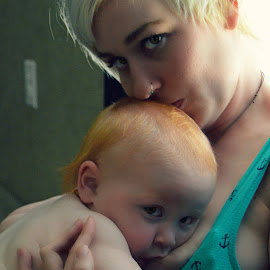 A Mothers Gift by Allie Sisco - People Family ( mother, breasts, redhead, natural, baby boy )