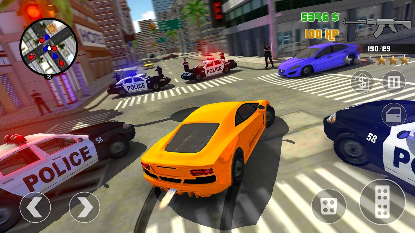 Clash of Crime Mad City War Screenshot