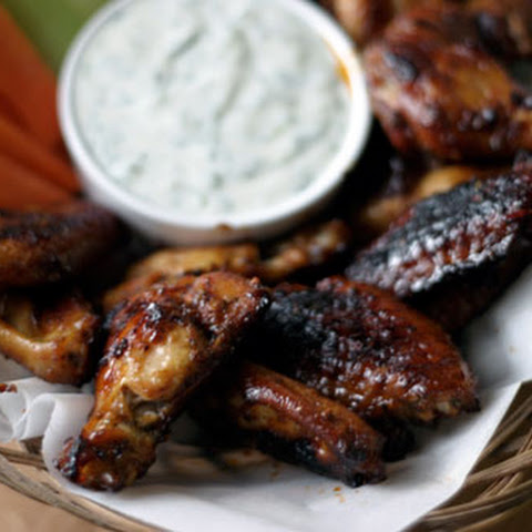 Sticky Honey Chipotle Chicken Wings