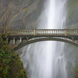 Multnomah Falls Bridge by Andy Taber - Buildings & Architecture Bridges & Suspended Structures (  )