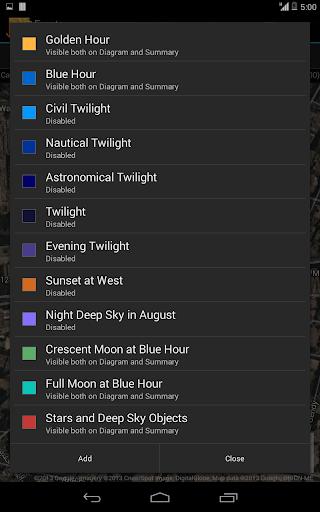 Exsate Golden Hour Pro - screenshot