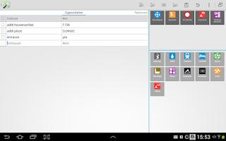 Screenshot of Vespucci OSM Editor