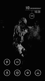 Weird Smoke Theme - screenshot