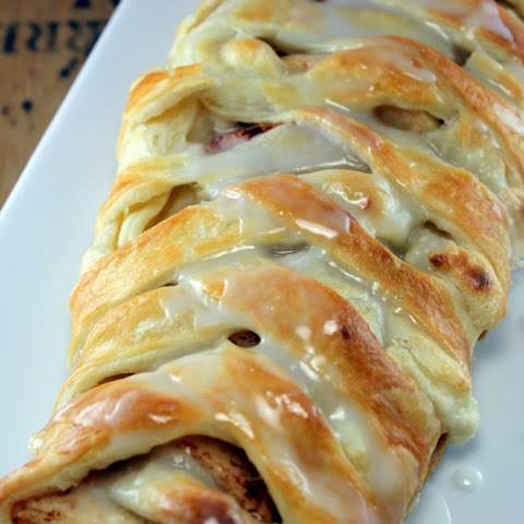Apple Ricotta Strudel