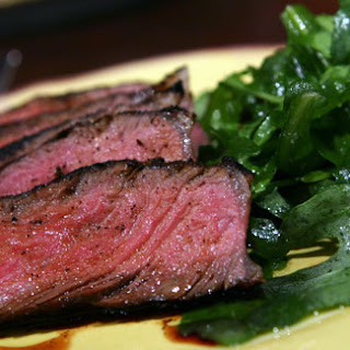 Grilled Steak with Coffee Rub