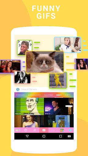 Emoji keyboard - Cute Emoticons, GIF, Stickers screenshot 3