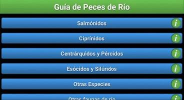 Screenshot of Guia de Peces de Río