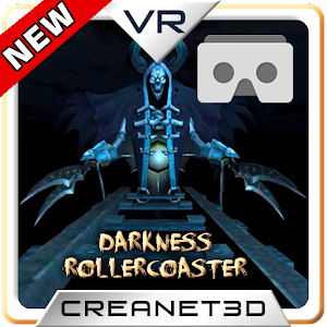 Cover art DARKNESS ROLLERCOASTER VR