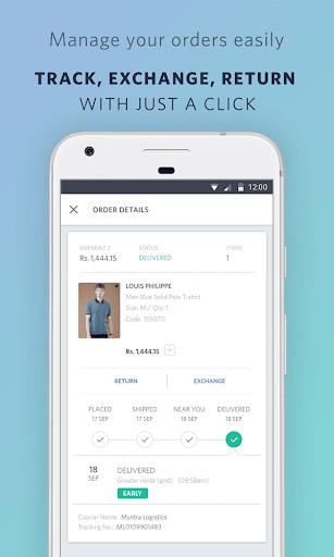 Myntra Online Shopping App screenshot 6