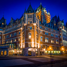 Frontenac Castle by Gigi Kent - Buildings & Architecture Public & Historical