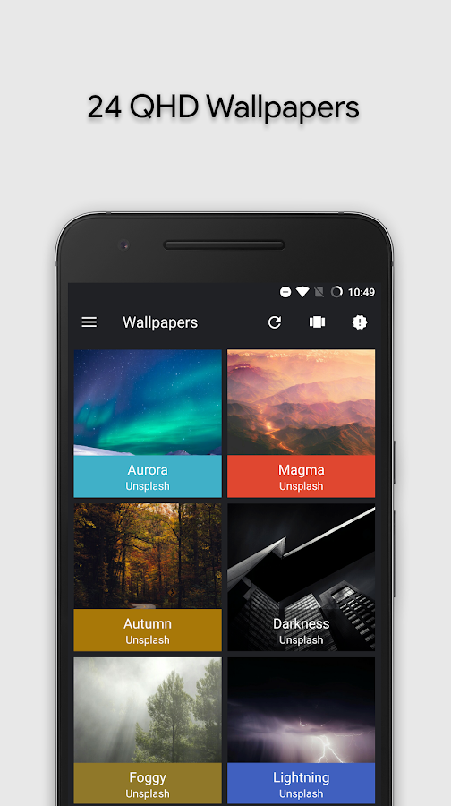 Zephyr - Icon Pack Screenshot 5