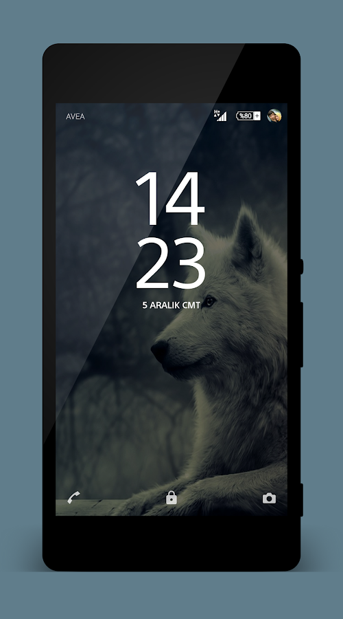 Theme Xperien Wolf Pro Screenshot 1