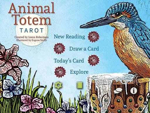 Animal Totem Tarot - screenshot