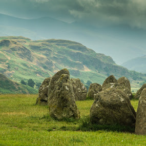 Castlerigg Stone Circle, Cumbria by Sinclair Parkinson - Nature Up Close Rock & Stone ( canon, mountain, cumbria, sinclair parkinson, stone, druid, rock, lake, circle, canon 7d, lake district, castlerigg, 7d, fat spanner photography, cloud, solstace, rocks )