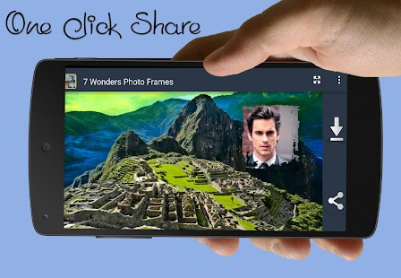 7 Wonders Photo Frames - screenshot