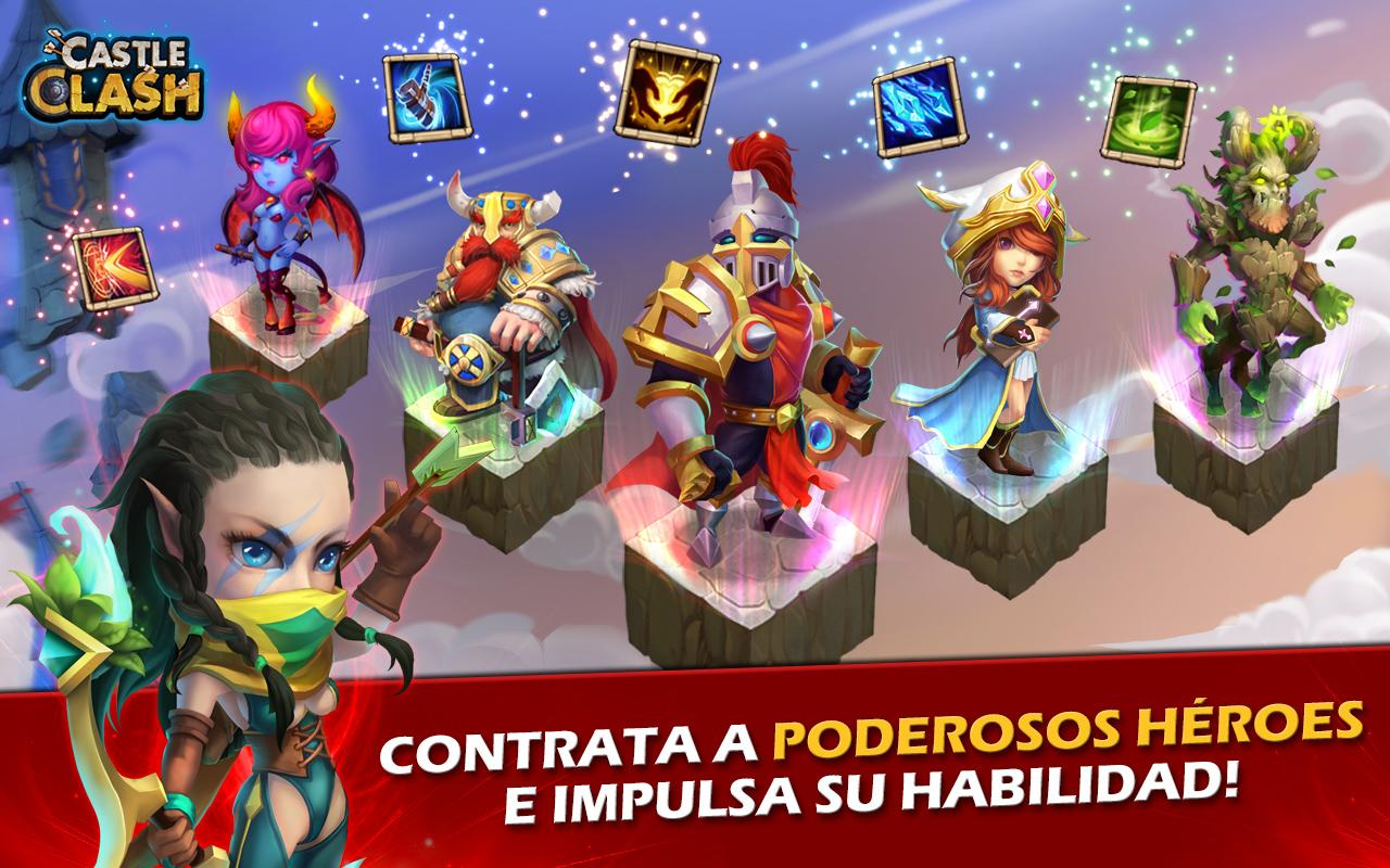 Castle Clash: Era de Leyendas Screenshot 2